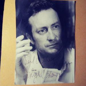 Vintage Bryan Brown autographed photo
